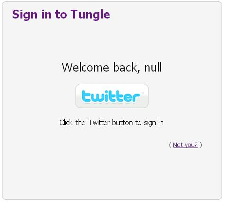 Welcome back, null